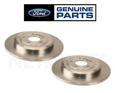 For Ford Edge Taurus Lincoln Mercury Set of Two Rear Brake Disc Rotors Genuine