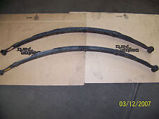 REAR LEAF SPRINGS FORD PASS. CAR 1957-59. 2 AND 4 DR. SEDANS, COUPES 4 LF 42-213