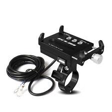 Motorrad Handyhalterung Roller Handyhalter Quad USB Steckdose Anschluss GUB G85e