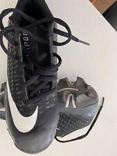 Nike Kids' Vapor Ultrafly 2 Keystone Baseball Cleats, Black/Whi, Size 2.5 Y