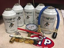 Enviro-Safe Industrial & Modern Refrigerant, R12 & R134a Replacement, Kit
