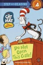 Step into Reading : Do Not Open This Crate! Cat in The Hat Paperback Book