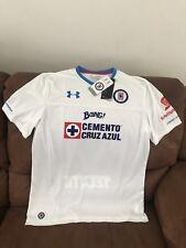96cb3af38 Under armour Cruz Azul White International Club Soccer Fan Apparel ...