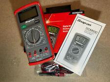 New listing Snap-On Digital Multimeter Eedm503D New + Bonus