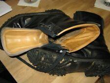 Springerstiefel aus Leder, Größe 45, schwarz, guter, normaler  Zustand