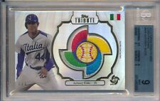 Anthony Rizzo 1/1 Cubs 2013 WBC Game Used LOGO Jersey Patch Relic Topps Tribute