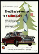 1957 MORRIS Motors - OXFORD Minor 1000 - Quality First Isis Car - VINTAGE AD