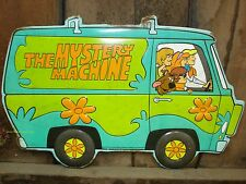 METAL SIGN* SCOOBY DOO mystery machine wall art tin retro style dog puppy truck
