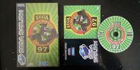 Worldwide Soccer '97 (Rare Slip Case Version) - Sega Saturn - Boxed & Complete!
