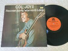 COL JOYE HEAVEN IS MY WOMAN'S LOVE 1973 ATA AUSTRALIAN RELEASE LP