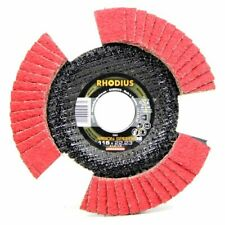 Rhodius VISION SPEED Fächerscheibe mit Durchblick INOX 115 x 22,23 - P40 Ø 115mm