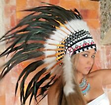 era Bonnet Miss Java Pocahontas Indian Headdress MOLLA cappa indiani cappa Squaw