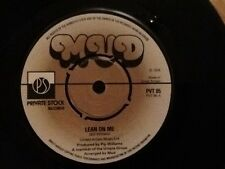 MUD . LEAN ON ME / GREACIAN LAMENT . 1976 ORIGINAL . ( GLAM ROCKERS MUD )