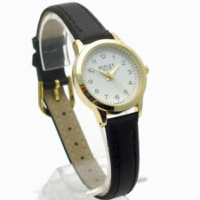 Faux Leather Band Analogue Casual Round Wristwatches