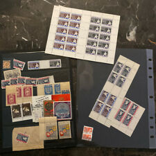 Mint Germany Russia Displaced Person DP Baltic Camp Stamps Sheet Collection Lot