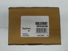 BRAND NEW CENTRIC BRAKE PADS 100.07681 / D768A FITS VEHICLES LISTED ON CHART