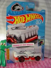 HOTWEILER #113 US 50✰white/red; 18✰2018 Hot Wheels case E✰ 'YEAR OF THE DOG'