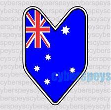 Australia Flag JDM Design Car Vinyl Sticker Decals