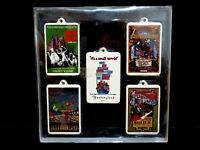 Disney's Holiday Collection Set of 5 35th Anniversary Commemorative Ornaments