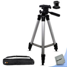Pro 60 inch Tripod w/ 3 section legs + Tripod Case + Mount for GoPro Hero Naked