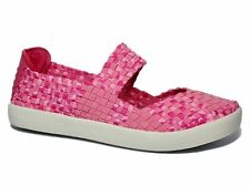 Flache Markenlose Damen-Sandalen & -Badeschuhe aus Synthetik für die Freizeit