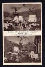 108763 AK Weissstein Weißstein Schlesien 1929 Conditorei Cafe Tanzdiele Zum weiß