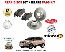 für Hyundai Tucson 2.0 2.0 TD 2.7 2004-2010 Bremsscheiben SET