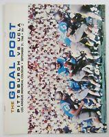 Vtg Pitt vs UCLA Football Program The Goal Post Pittsburgh Panthers Bruins 1968