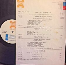 RADIO SHOW: 7/8/88 JULY B-DAYS! ROGER McGUINN, DION, SPENCER DAVIS,SANTANA,BYRDS