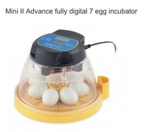 Brinsea Mini II Advanced Fully Digital egg incubator