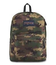 NEW Jansport Superbreak Backpack Camo