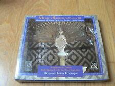 Mexico Barroco puebla III (3) - Fabian Ximeno : Missa sobre - CD Urtext NEW