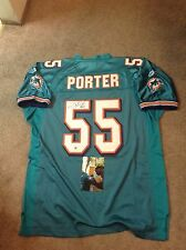 Joey porter autographed nfl jersey Miami Dolphins coa & holo100%authentic proof