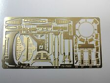 KMC 72-7022 PhotoEtch Brass - 1/72nd scale F-8 Crusader  Beautiful detail parts