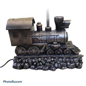 Steam Train Engine Table Lamp Base No Shade