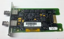 NEW 3Com LinkBuilder Fiber Optic ST Transceiver Module 3C1206-5, 1206-500-000-3