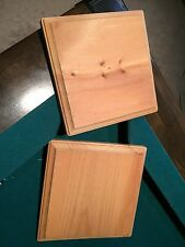 Two wooden prices 6.5x6.5 use for crafting