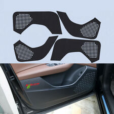 For Audi Q7 2016-2018 Door Side Anti-kick Protection Sticker Carbon Fiber Pad