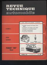 (180) Revue technique automobile Renault 6TL 1100
