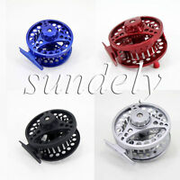 85mm 5/6 Aluminum Fly Fishing Reel Trout Fishing Left or Right Handed