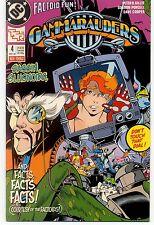 GAMMARAUDERS  (1989) #4 DC Comics VF/NM