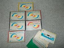 ORWO K 60 low noise Kassetten 7 Stück AudiokassettenTapes Vintage