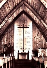 Die Kirche in Ahrenshoop - Innenraum , Ansichtskarte, 1974 gelaufen