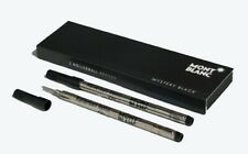 Montblanc 2 recharges pour rollerball (M) Mystery Black