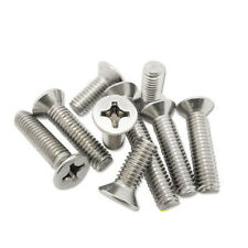 M3 Philips Flat Head Screw Countersunk Stainless Steel Screws Bolt Bolts