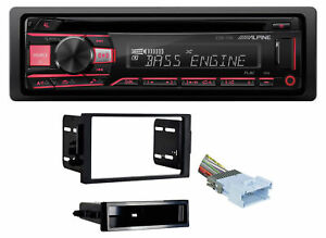 ALPINE CD Receiver Stereo Android/MP3/WMA/USB/AUX For 2004-05 Saturn All-Models