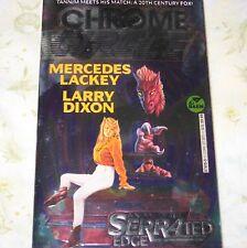 Chrome Circle Mercedes Lackey Larry Dixon Serrated Edge Series PB Fantasy