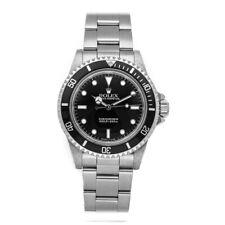 Rolex Vintage Submariner No Date Auto Steel Mens Oyster Bracelet Watch 5513