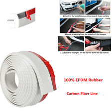 Rubber Skirt  Anti-scratch Strip for Auto Car Front Bumper Spoiler Lip Protector