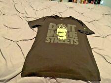 NIKE Men's Black Tennis SS Shirt. Size Medium  USA FREE SHIPPING